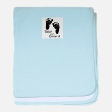 baby on board baby blanket