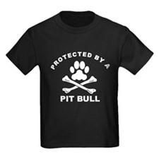 Protected By A Pit Bull T-Shirt
