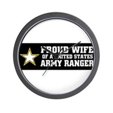 Cute Military father in law Wall Clock