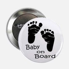 """baby on board 2.25"""" Button"""