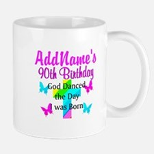 GOD LOVING 90TH Mug