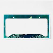 Surfboarder License Plate Holder