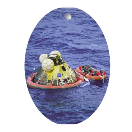Apollo 11 Recovery Space Christmas Tree Ornament