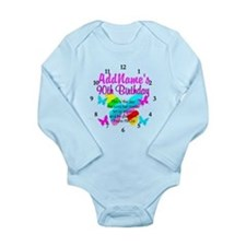 BLESSED 90TH Long Sleeve Infant Bodysuit