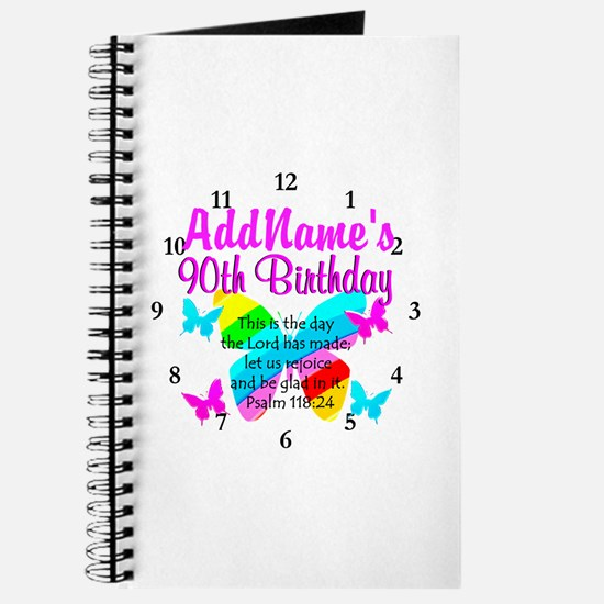 BLESSED 90TH Journal