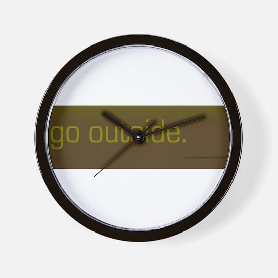 Unique Hobbies Wall Clock