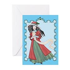Christmas List Greeting Cards