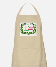 Holiday Message Apron
