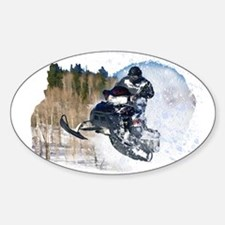 Airborne Snowmobile Decal