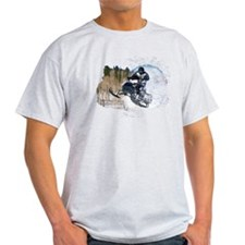 Airborne Snowmobile T-Shirt