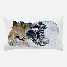Airborne Snowmobile Pillow Case