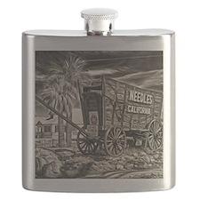 Cute Needles california Flask