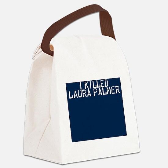 i killed laura palmer Canvas Lunch Bag