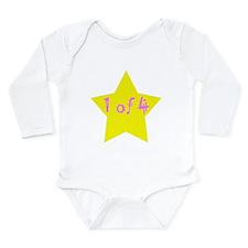 Cute Multiple babies Long Sleeve Infant Bodysuit