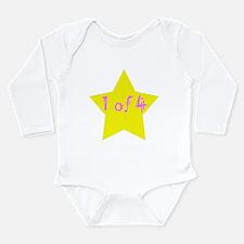 Funny Quadruplets Long Sleeve Infant Bodysuit
