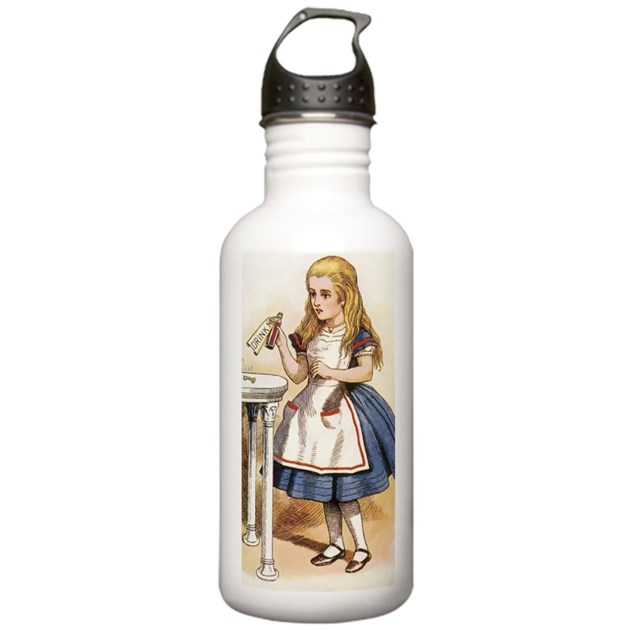 Alice In Wonderland Water: Sports Water Bottle By ADMIN_CP23162366