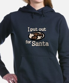 I Put Out For Santa Women's Hooded Sweatshirt