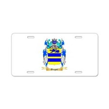 Gregori Aluminum License Plate