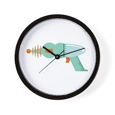 Bubble Gun Wall Clock