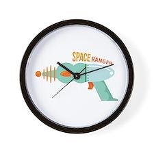 Space Ranger Gun Wall Clock