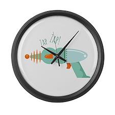 Bubble Gun Large Wall Clock