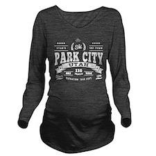 Park City Vintage Long Sleeve Maternity T-Shirt