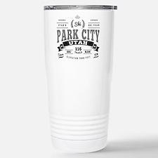 Park City Vintage Stainless Steel Travel Mug
