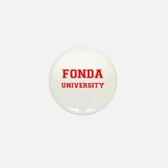 FONDA UNIVERSITY Mini Button