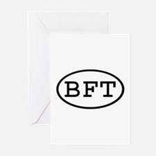 BFT Oval Greeting Cards (Pk of 10)