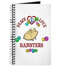 Peace Love Hamsters Journal