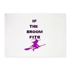 Witches Broom 5'x7'Area Rug