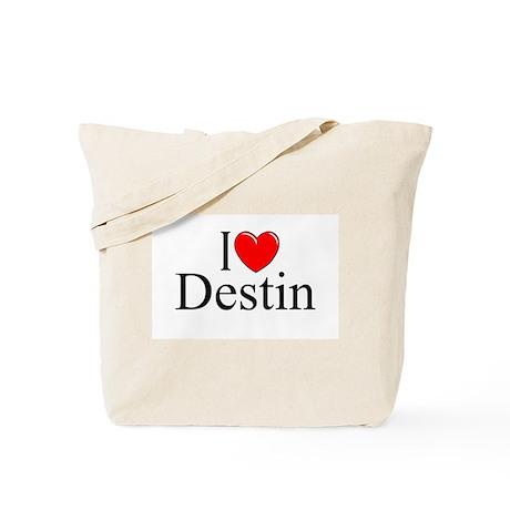 """""""I Love Destin"""" Tote Bag"""