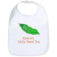 Abuela's Sweet Pea Bib