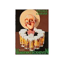 Beer Vintage Poster 5'x7'area Rug