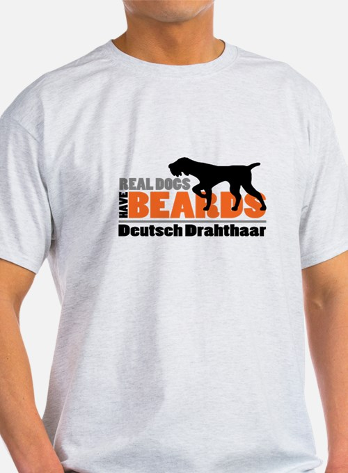 Real Dogs Have Beards - DD T-Shirt