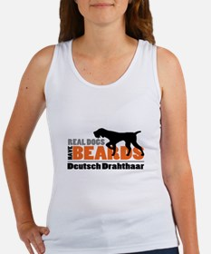 Real Dogs Have Beards - DD Women's Tank Top