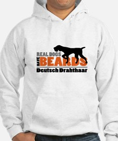 Real Dogs Have Beards - DD Hoodie