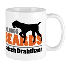 Real Dogs Have Beards - DD Small Mug