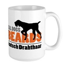 Real Dogs Have Beards - DD Mug