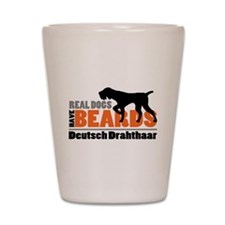 Real Dogs Have Beards - DD Shot Glass