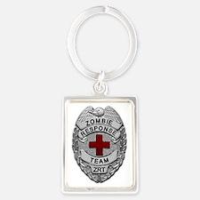 Zombie Response Team Keychains