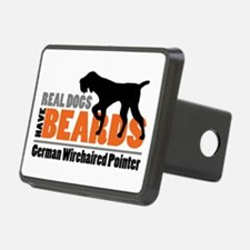 Real Dogs Have Beards - Gw Hitch Cover