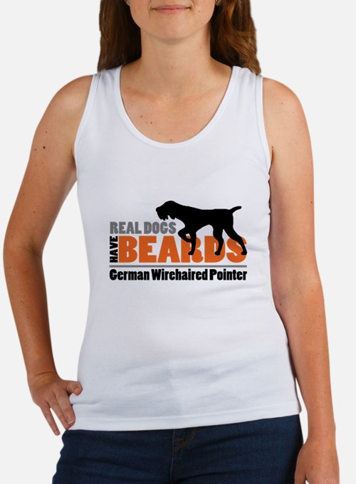Real Dogs Have Beards - GWP Women's Tank Top