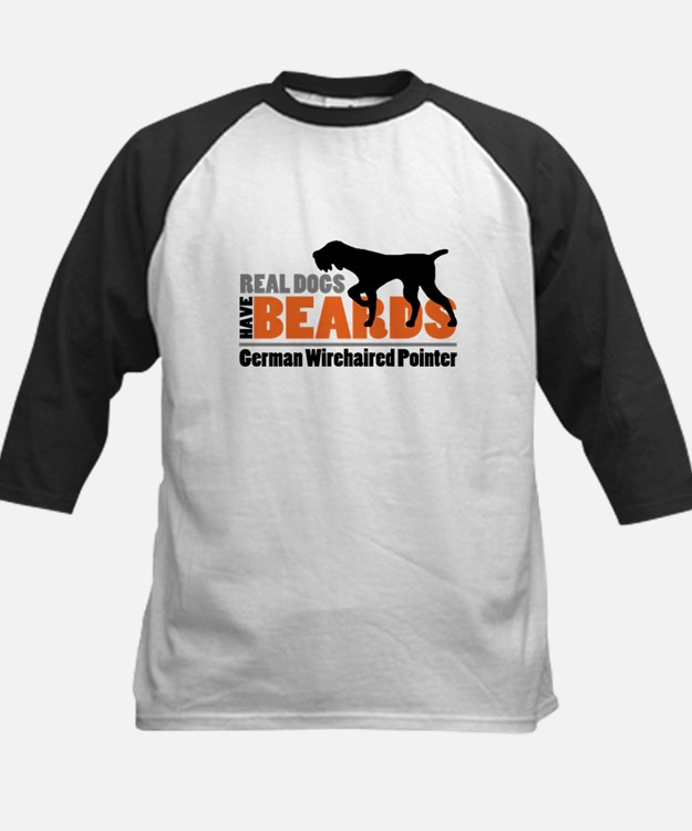 Real Dogs Have Beards - GWP Kids Baseball Jersey