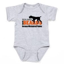 Real Dogs Have Beards - GWP Baby Bodysuit