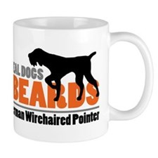 Real Dogs Have Beards - GWP Mug
