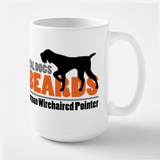 Real Dogs Have Beards - GWP Large Mug
