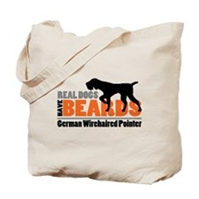 Real Dogs Have Beards - GWP Tote Bag