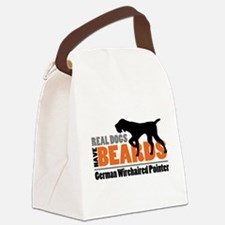 Real Dogs Have Beards - GWP Canvas Lunch Bag