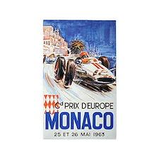Monaco, Grand Prix, Vintage Poster 3'x5' Area Rug
